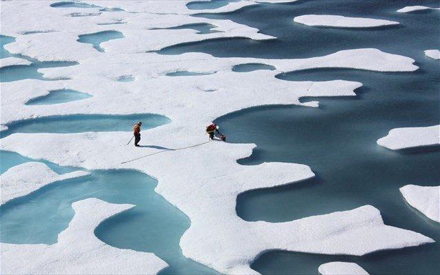 Η Αρκτική λιώνει η Ευρώπη παγώνει